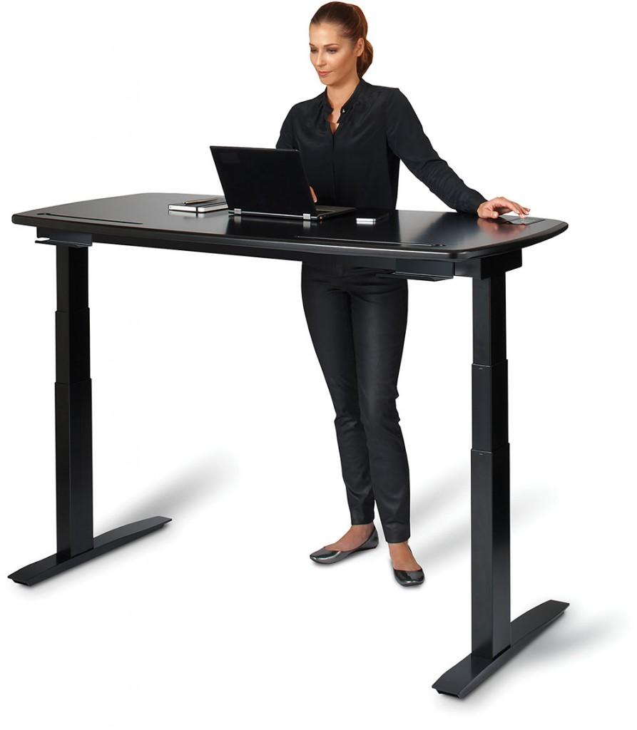 Kinetic Desk // Las imágenes fueron obtenidas de la web de STIRK (www.stirworks.com)