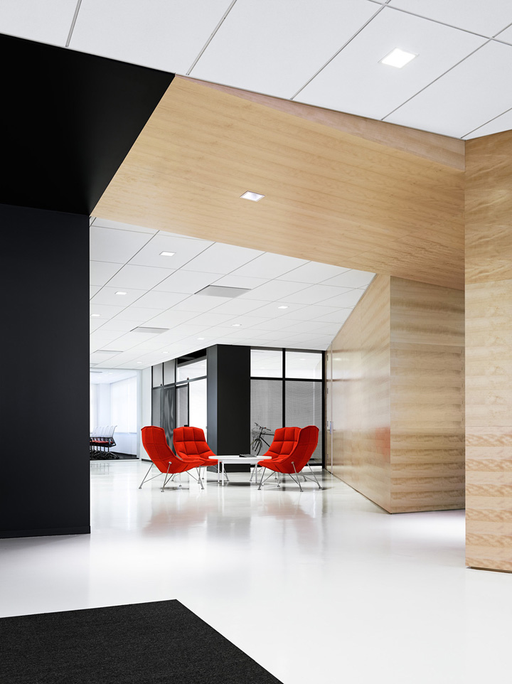 Rojo: Techshed. Fotógrafo: Joe Fletcher. Arquitectos: Garcia Tamjidi Architecture Design